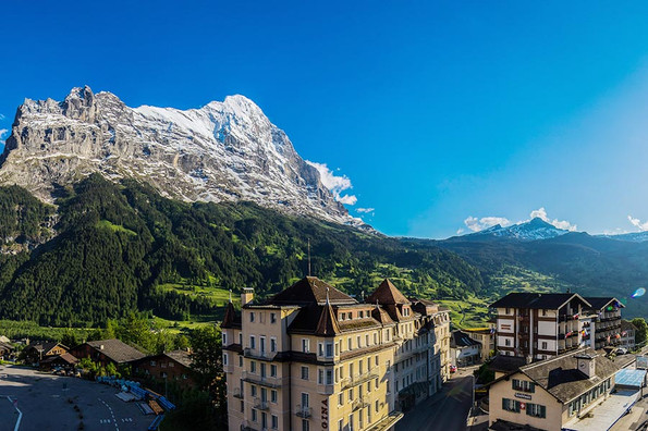 Hotel Kreuz & Post - book a single room Eiger view