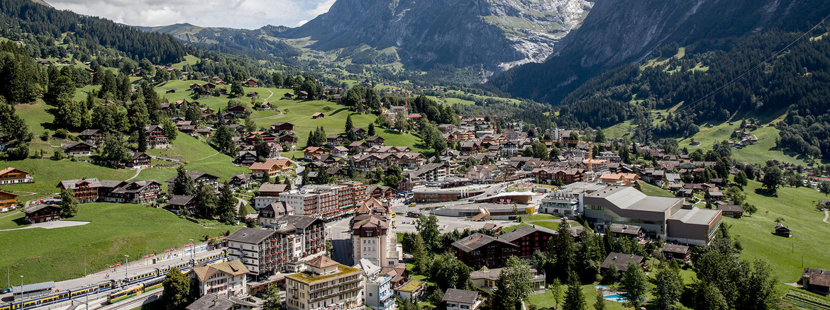 Hotel Kreuz & Post centrally located in Grindelwald