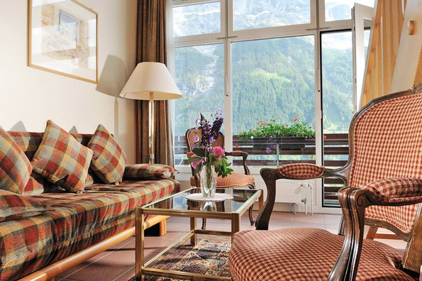 Luxussuite with view of Eiger North Face, Grindelwald