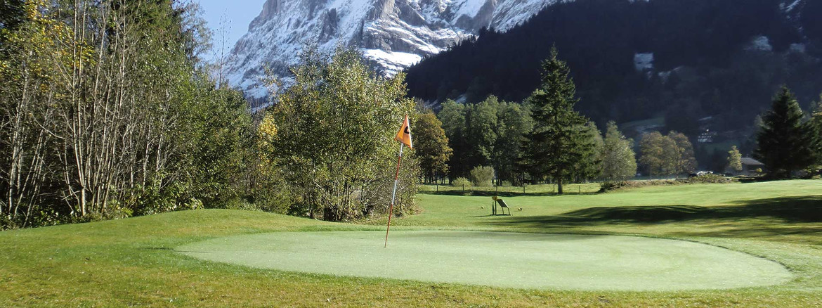 Golf in Grindelwald - no need of own equiipment or proof of handicap: Hotel Kreuz