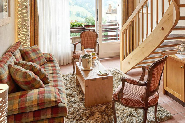 Panorama Suite at the Hotel Kreuz & Post, Grindelwald